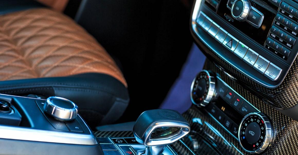 2021 Mercedes G63 6X6 Interior