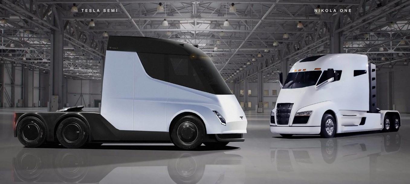 2021 Nikola Tesla Truck Exterior