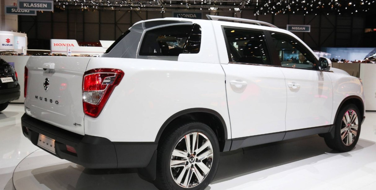2021 SsangYong Musso Engine