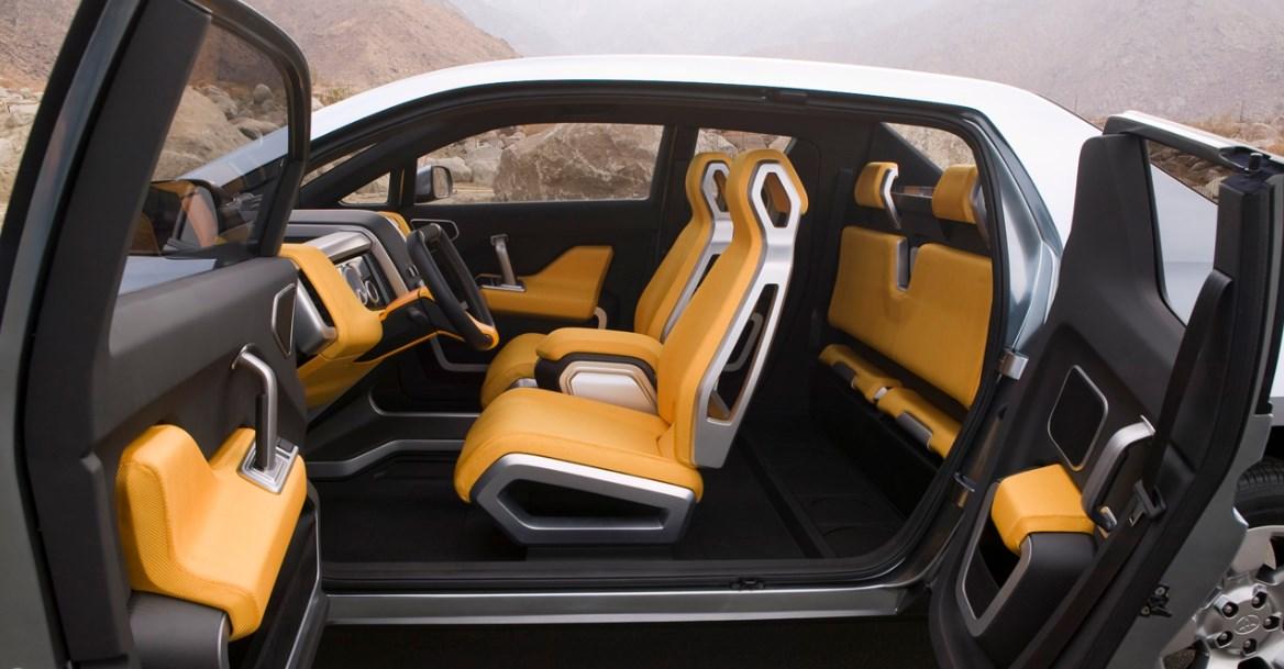2021 Toyota A-BAT Interior
