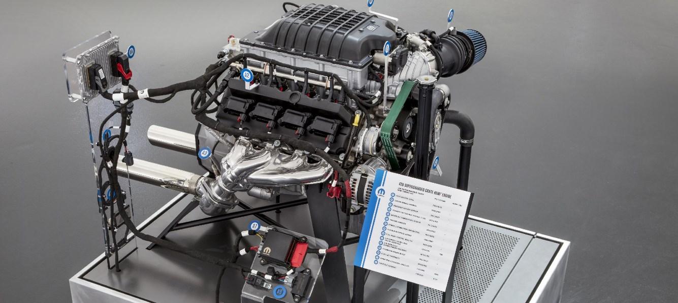 2021 Volvo Iron Knight Engine