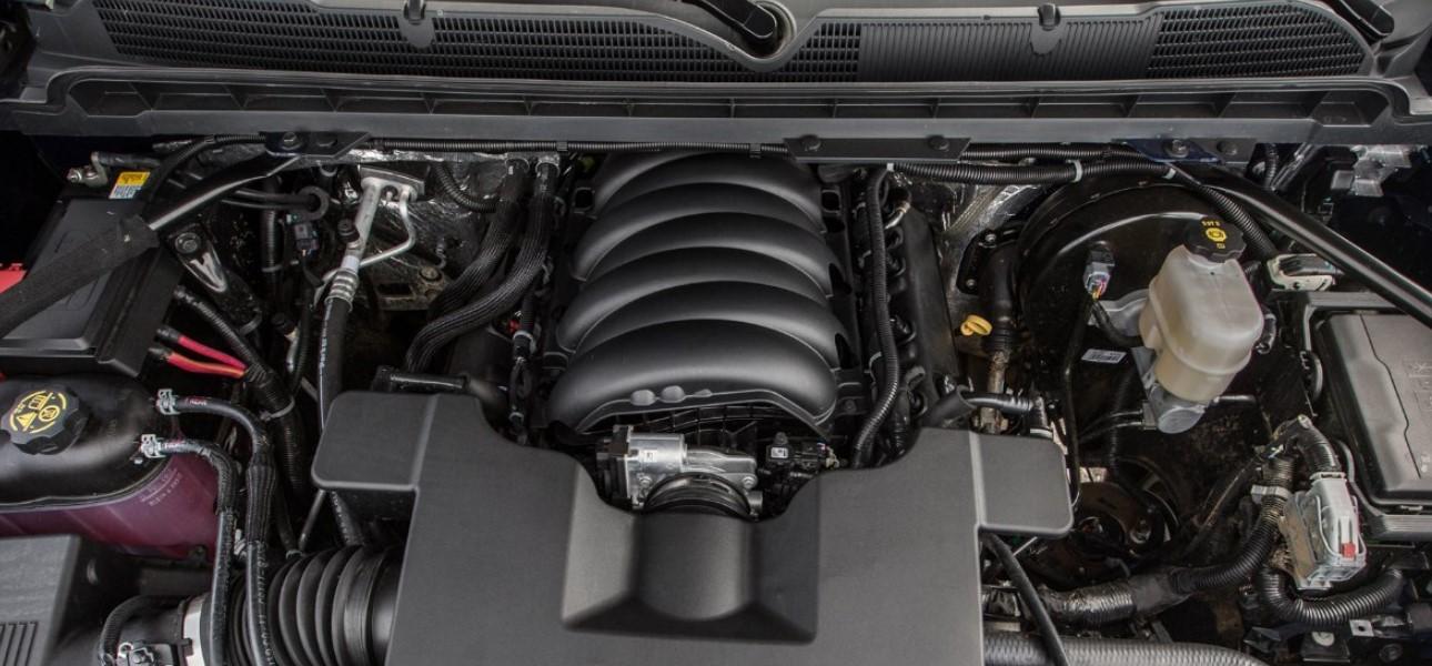 2020 Chevrolet Cheyenne Engine