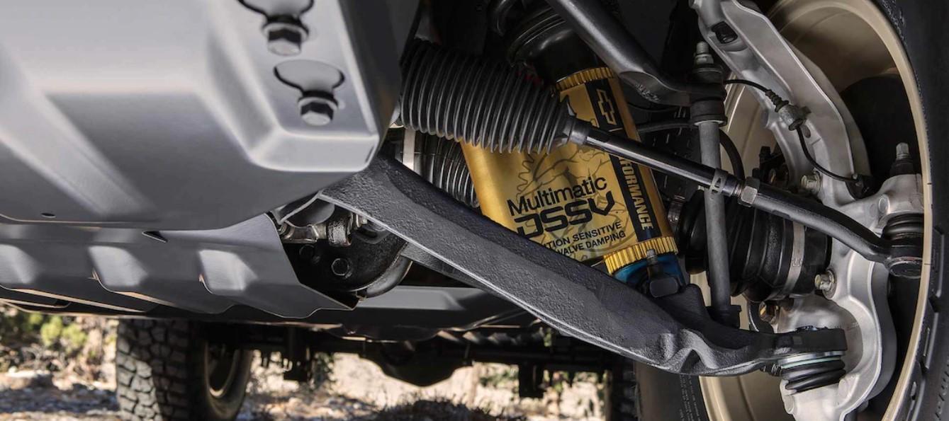 2020 Chevrolet Colorado ZR2 Bison Engine