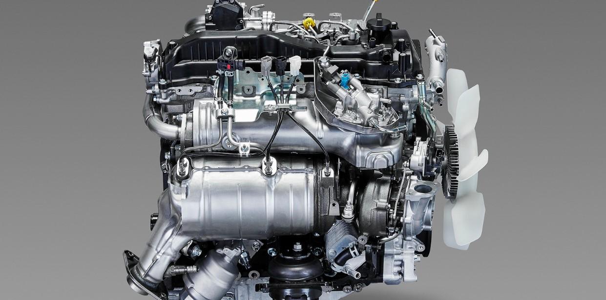 2020 Toyota Tacoma Engine