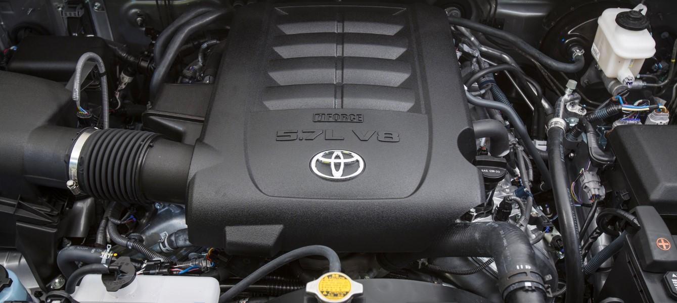 2020 Toyota Tundra TRD PRO Engine