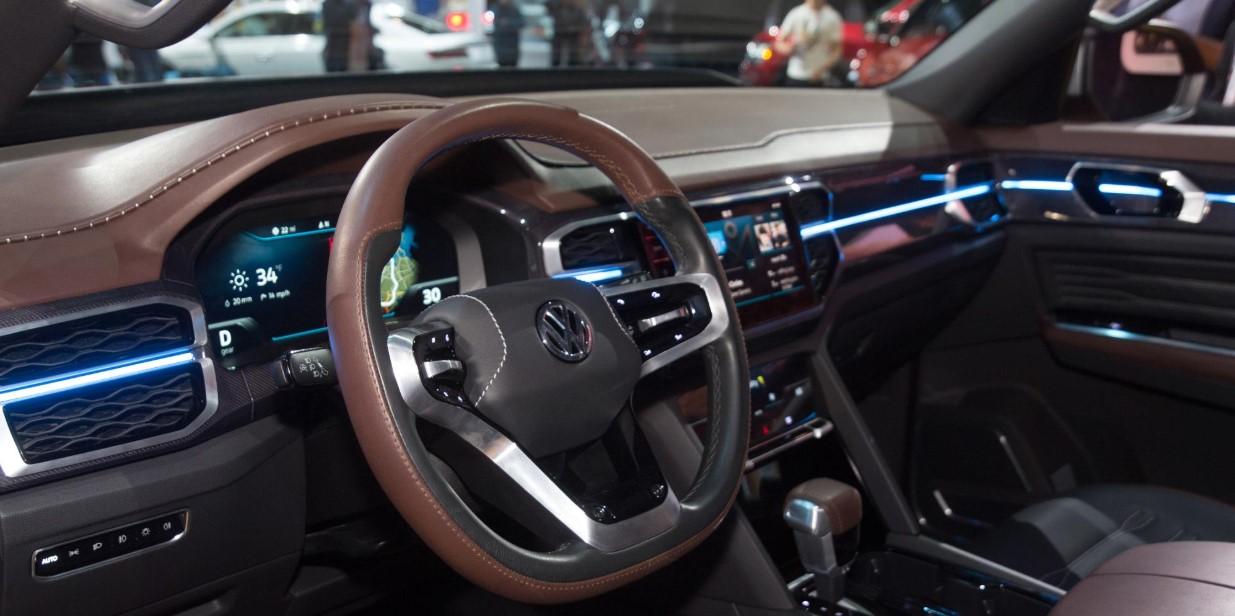 2020 Volkswagen Tanoak Interior
