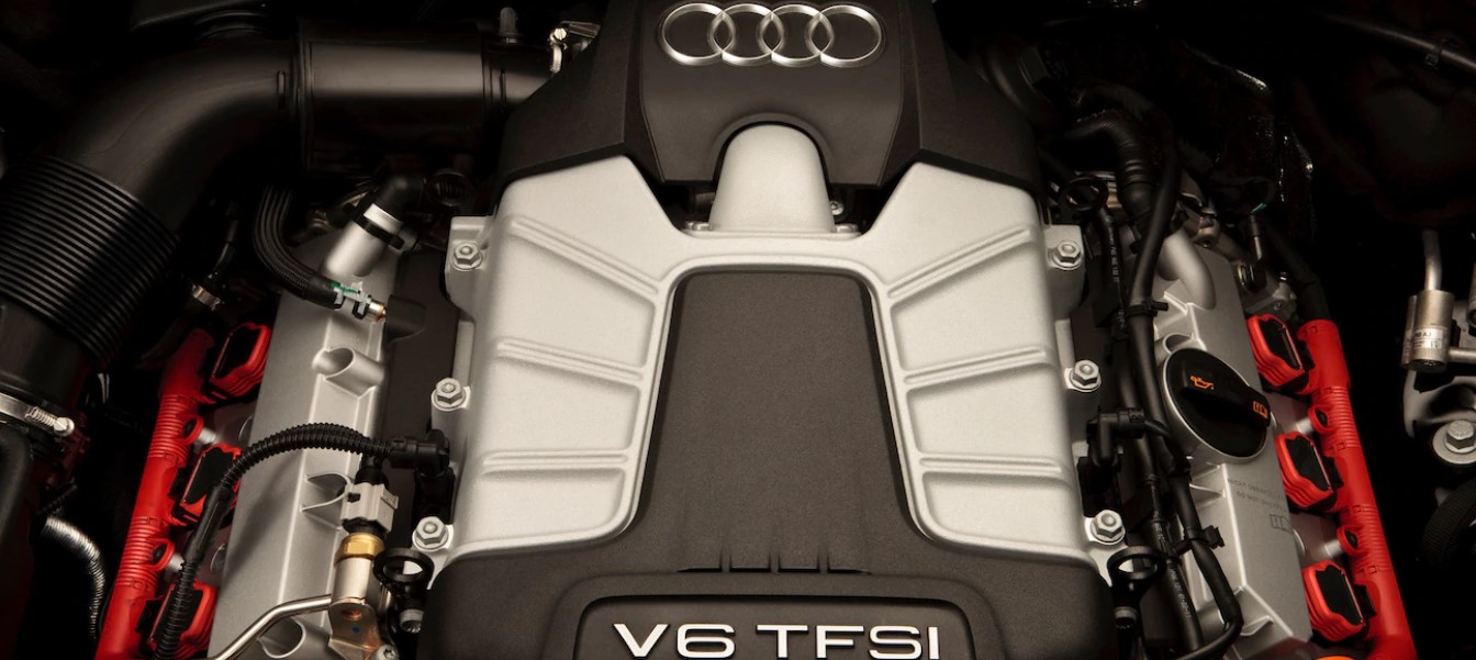 2021 Audi Q7 Pickup Truck Engine