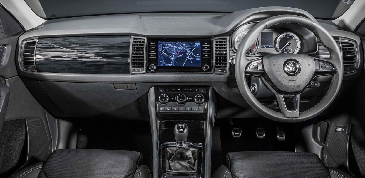 2021 Skoda Pickup Truck Interior