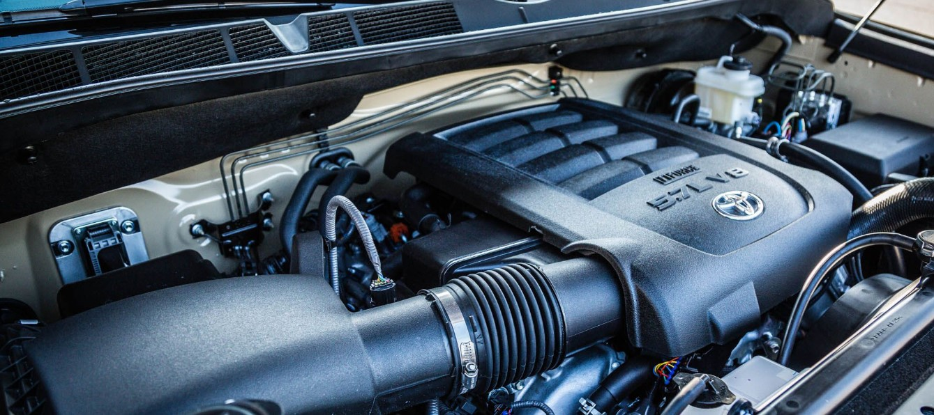 2021 Toyota Tundra TRD PRO Engine