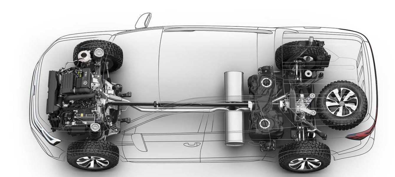 2021 Volkswagen Tarok Concept Engine