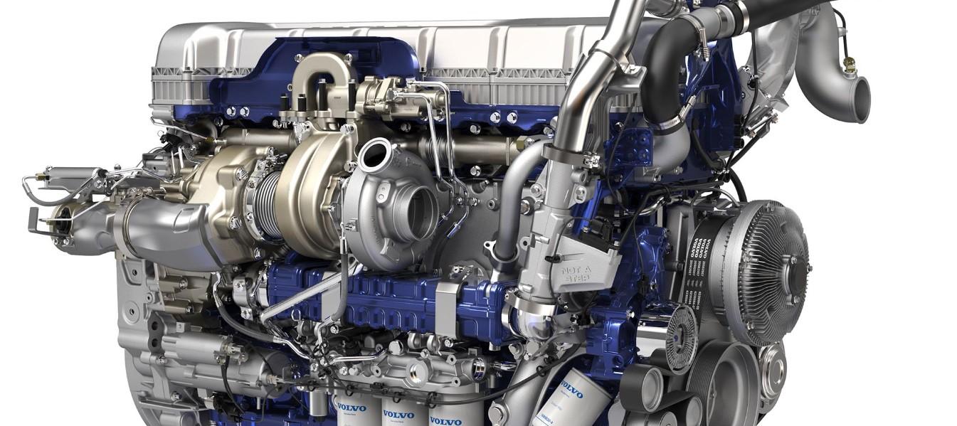 2021 Volvo Truck Concept Engine