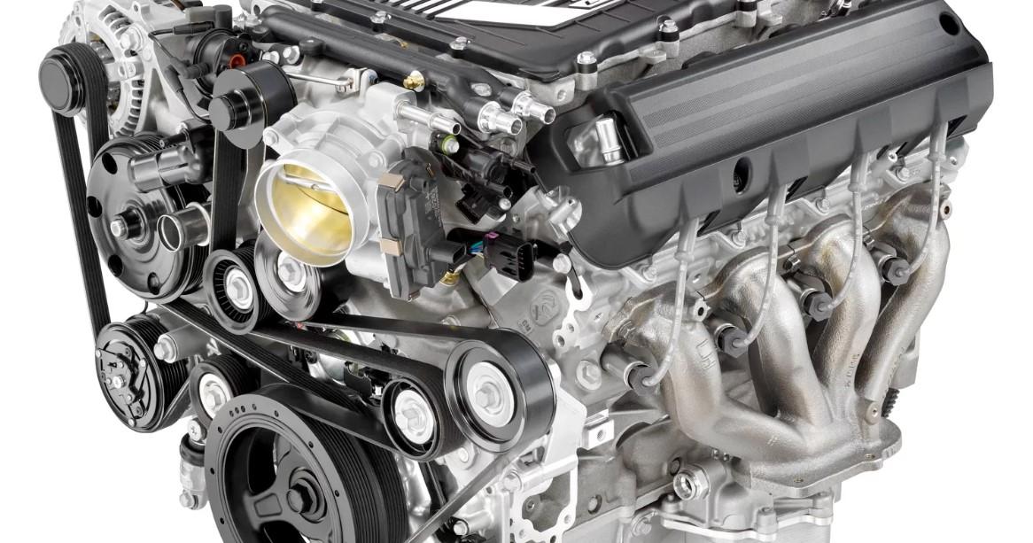 2020 Chevy Silverado SS Engine