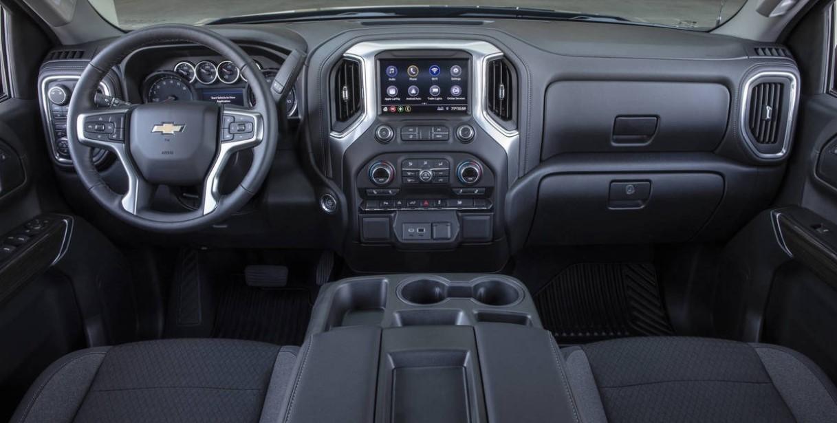 2020 Chevy Silverado SS Interior
