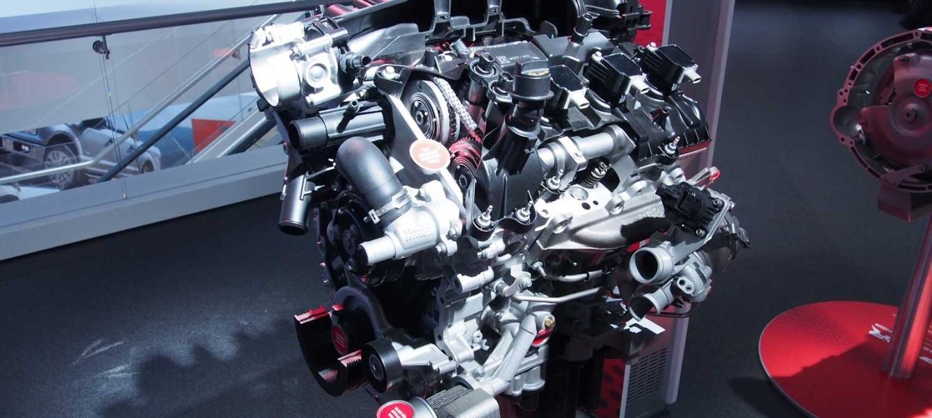 2020 Ford F-150 SVT Raptor Engine