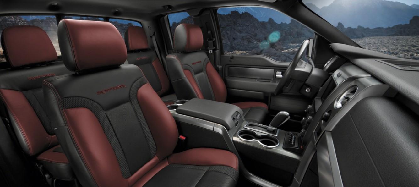 2020 Ford F-150 SVT Raptor Interior
