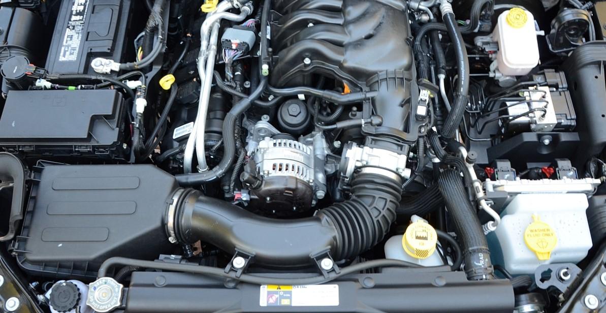 2020 Jeep Wrangler JT Engine