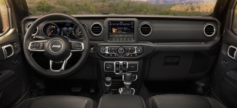 2020 Jeep Wrangler JT Interior