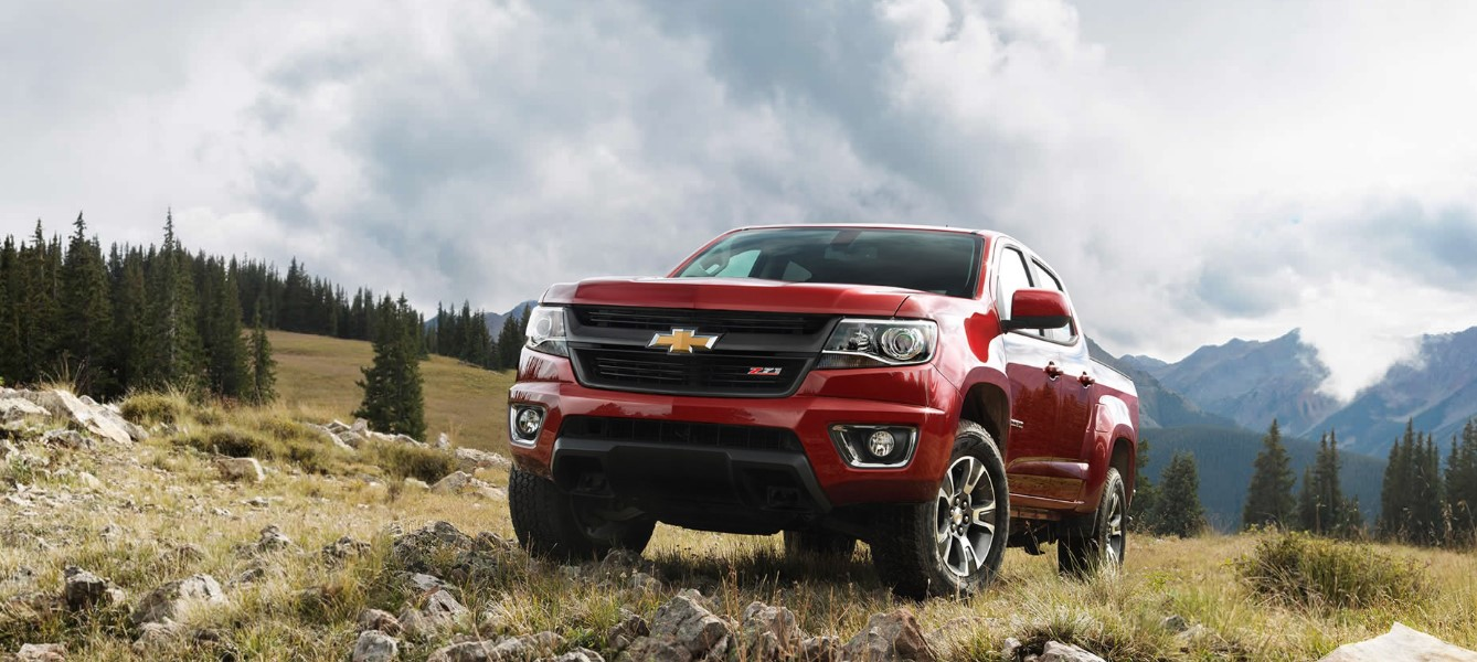 2021 Chevy Colorado Z71 Exterior