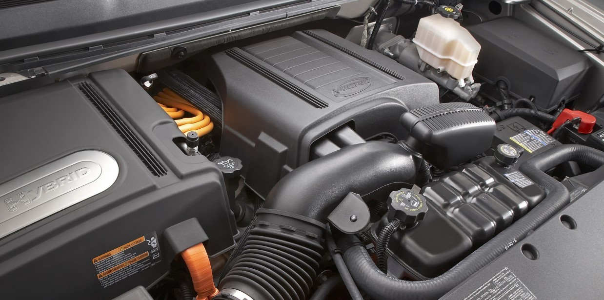 2021 Chevy Silverado 1500 Hybrid Engine