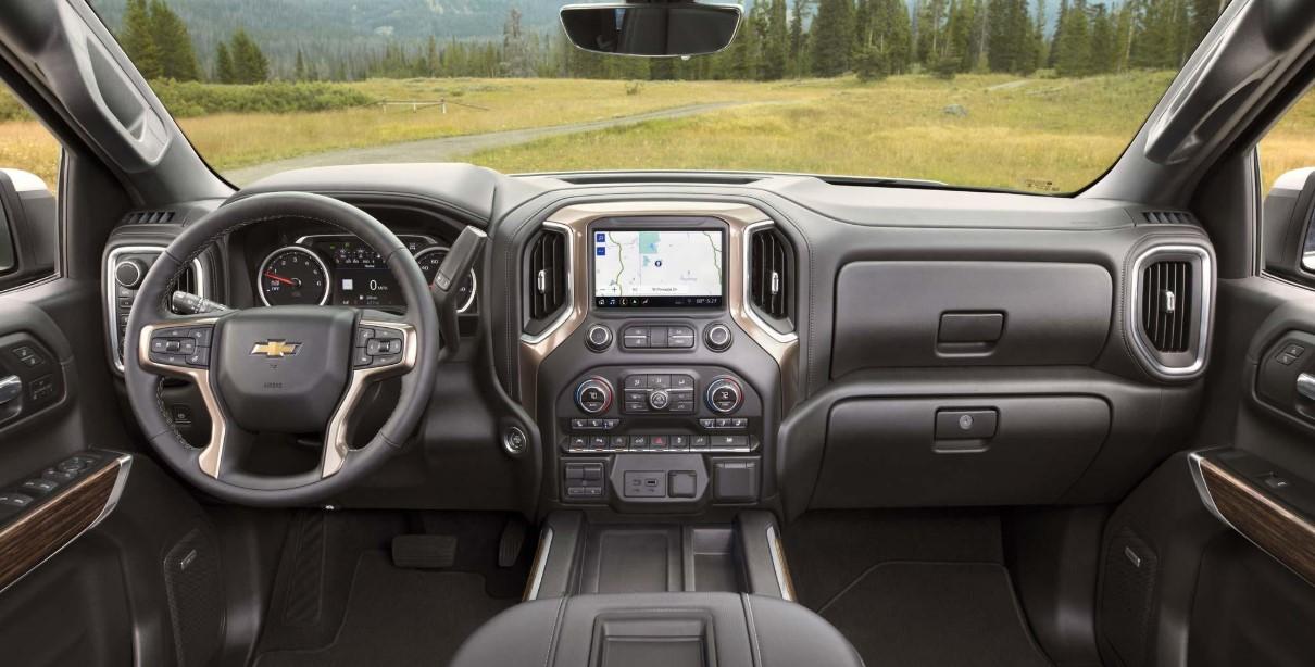 2021 Chevy Silverado 1500 Hybrid Interior