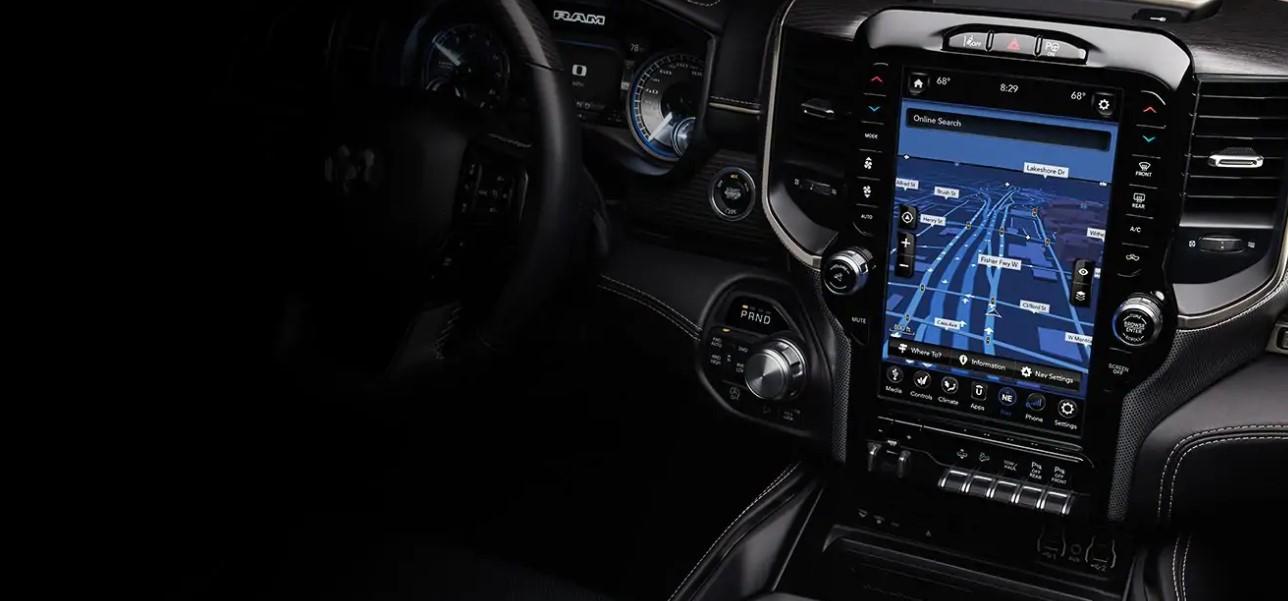 2021 Dodge Dakota Interior