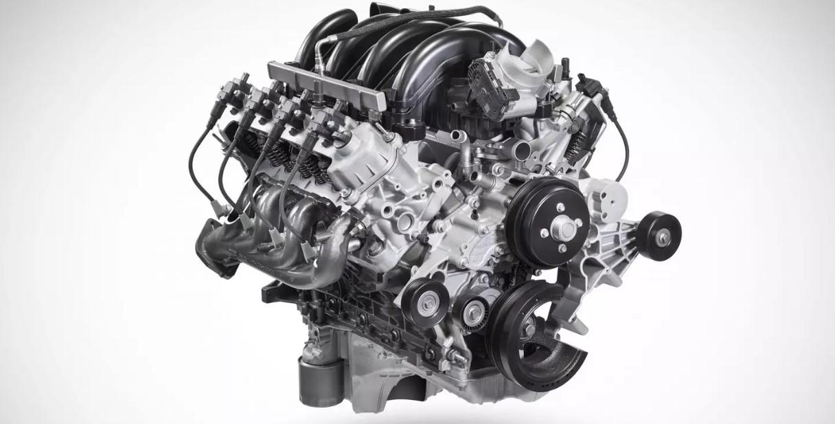 2021 FORD F-150 Harley Davidson Engine
