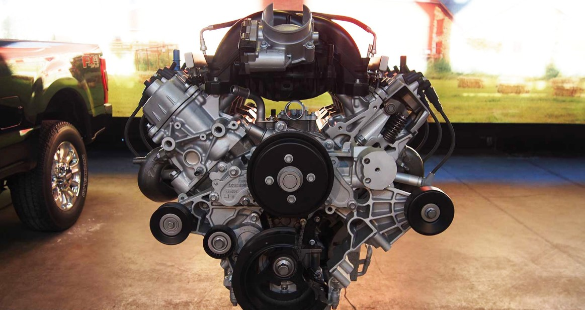 2021 Ford Super Duty Engine