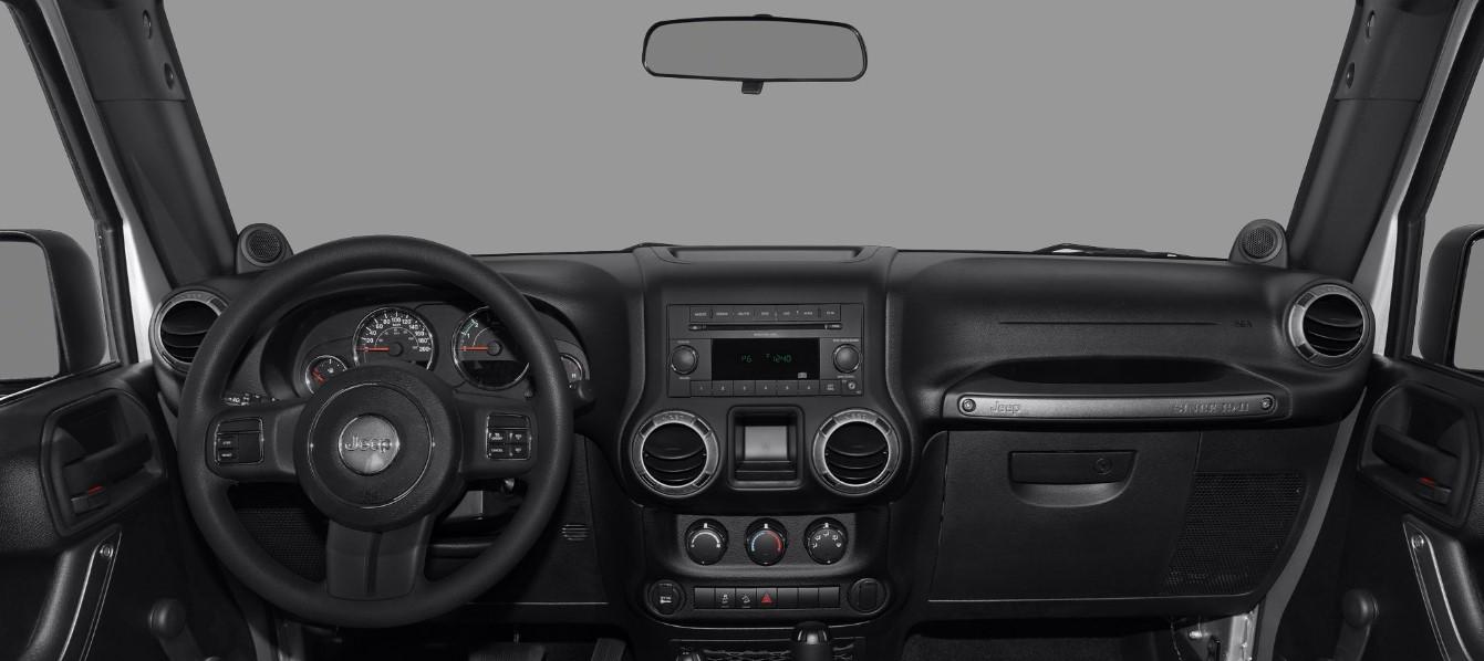 2021 Jeep Wrangler JT Interior