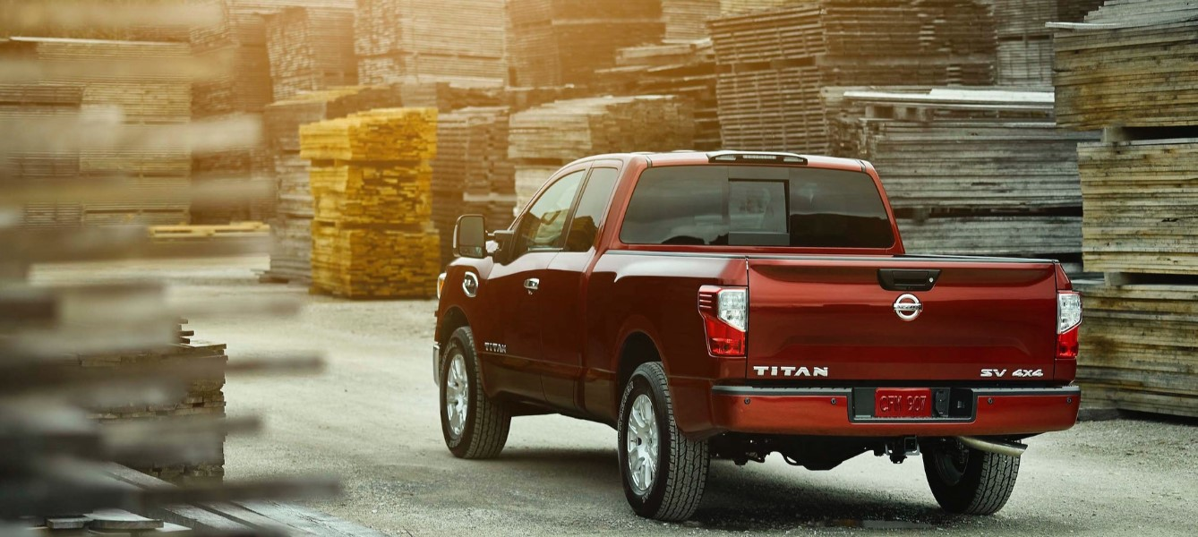 2021 Nissan Titan King Cab Engine
