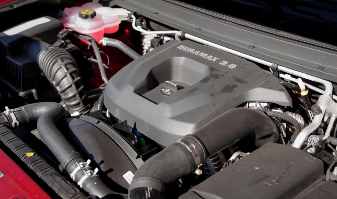 2023 Chevrolet Colorado Engine