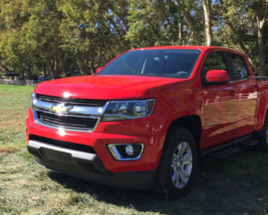 2023 Chevrolet Colorado Exterior