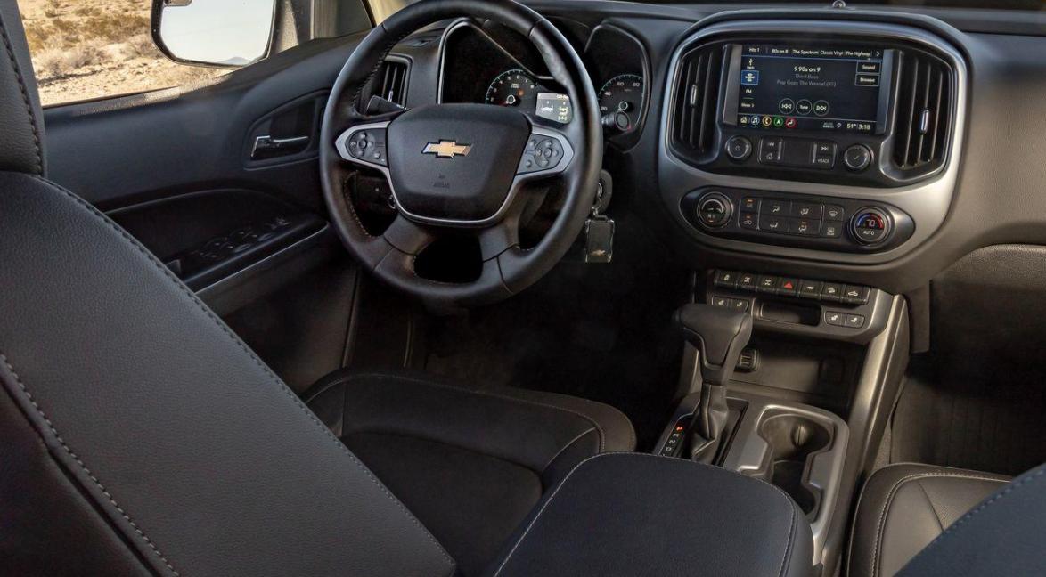 2023 Chevrolet Colorado ZR2 Bison Interior
