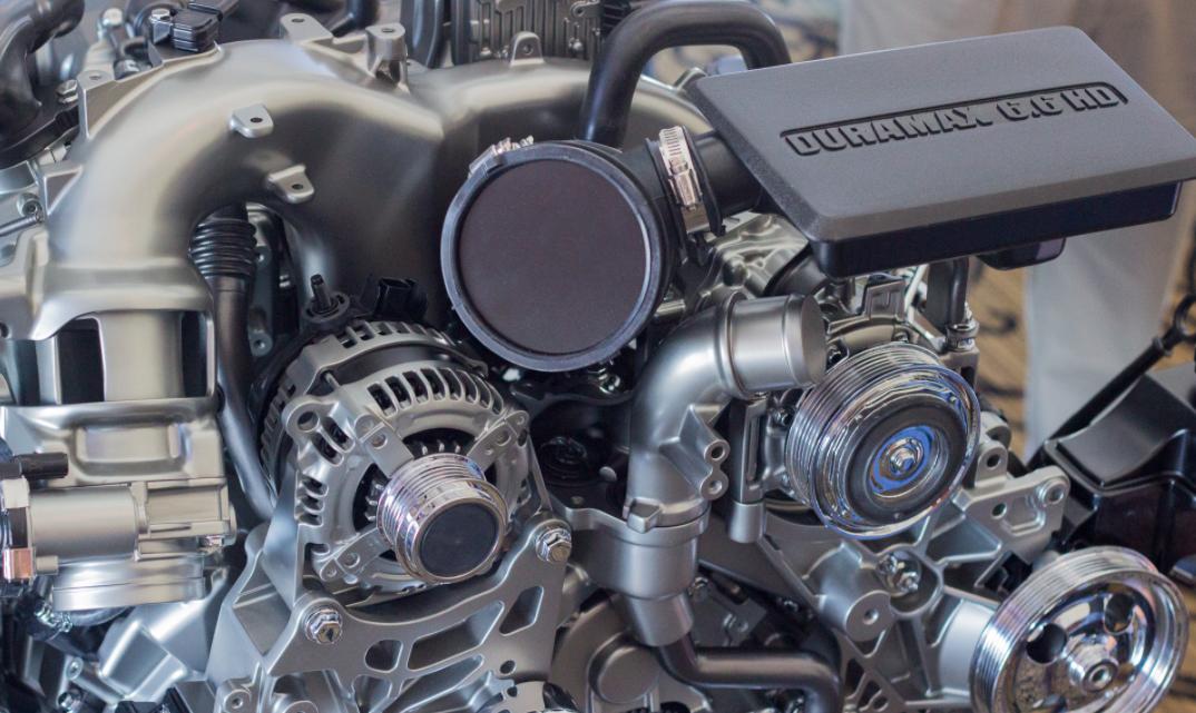 2023 Chevrolet Silverado 2500 HD Engine