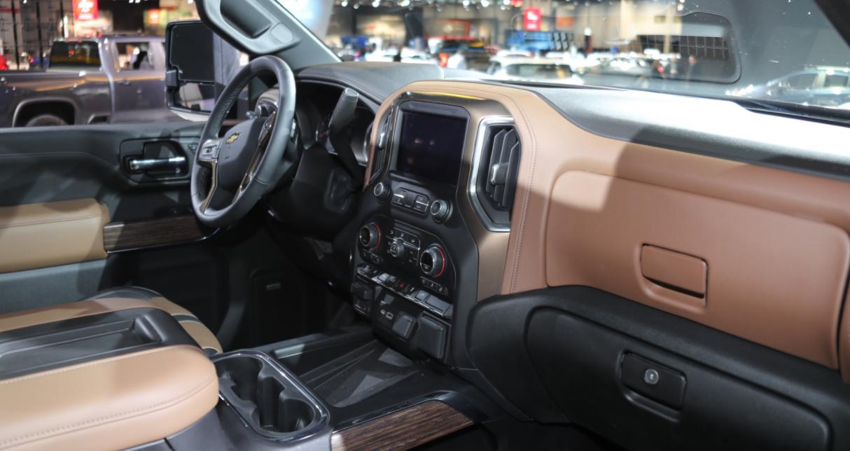 2023 Chevrolet Silverado 2500 HD Interior