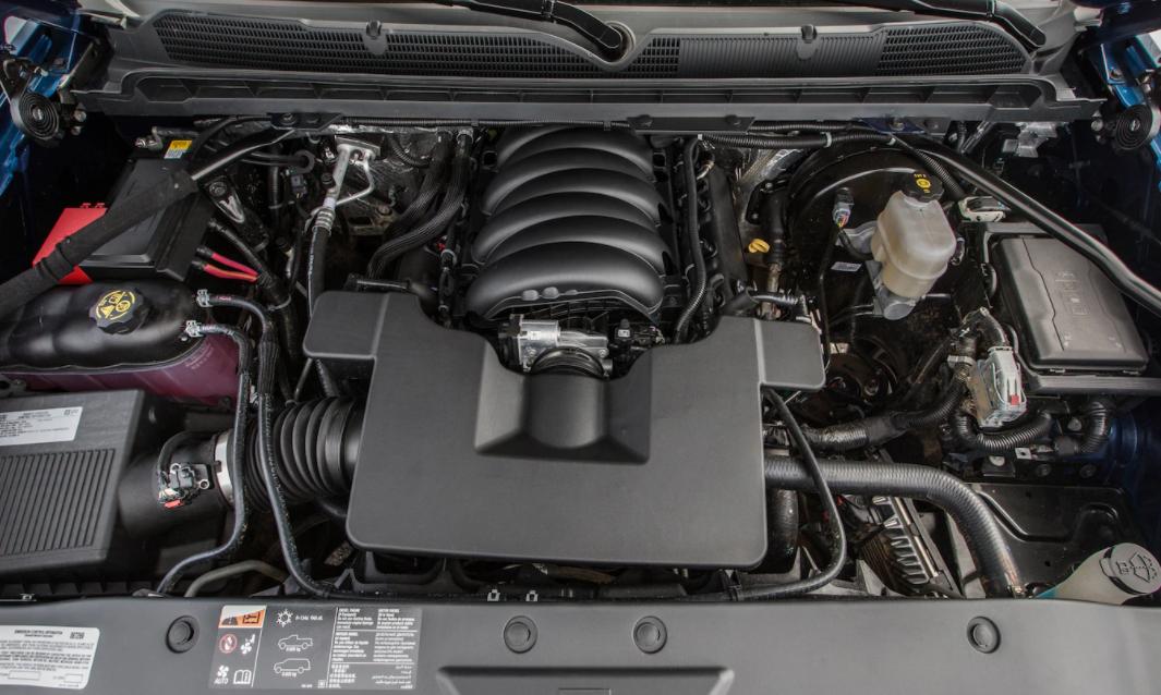 2023 Chevrolet Silverado Engine