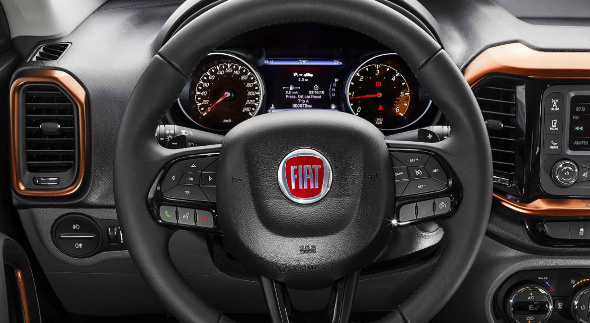 2023 Fiat Toro Interior