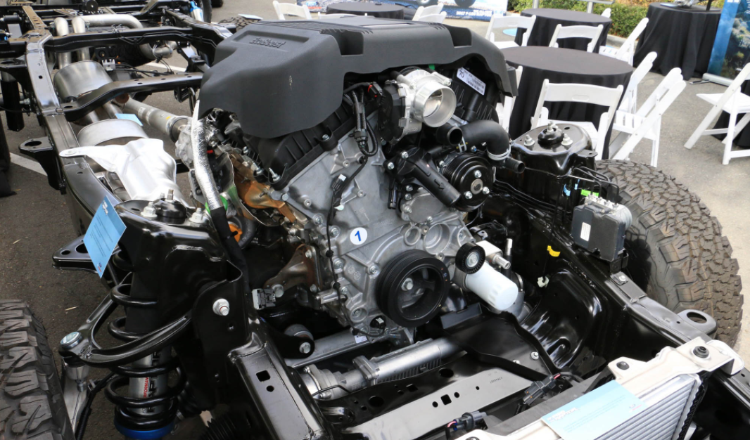 2023 Ford F-350 Engine