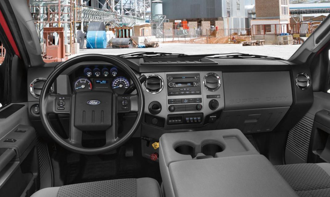 2023 Ford F-750 Interior