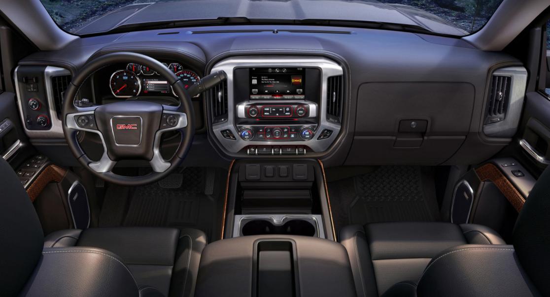 2023 GMC Sierra 1500 Interior
