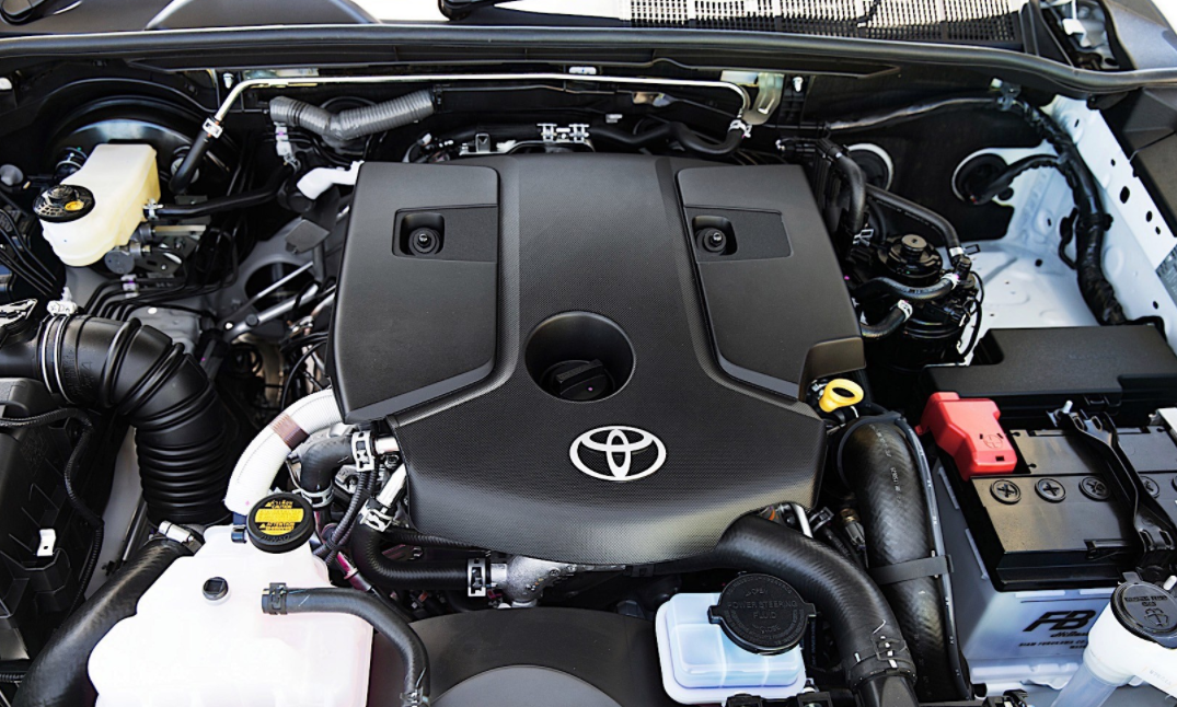 2023 Toyota Hilux Engine