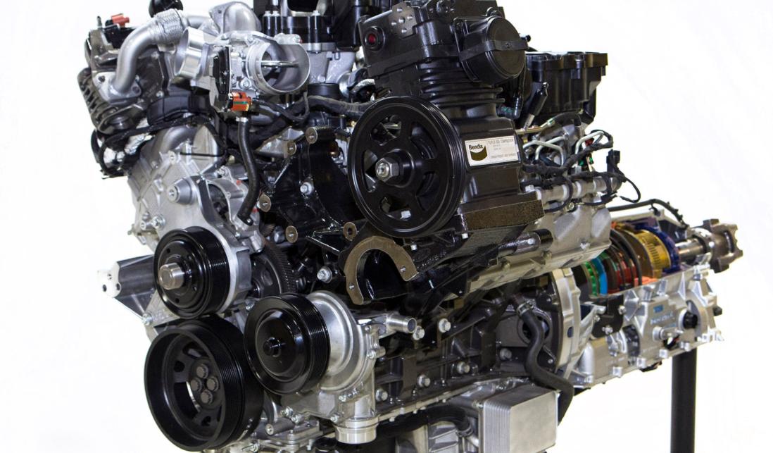 2022 Ford F-750 Engine