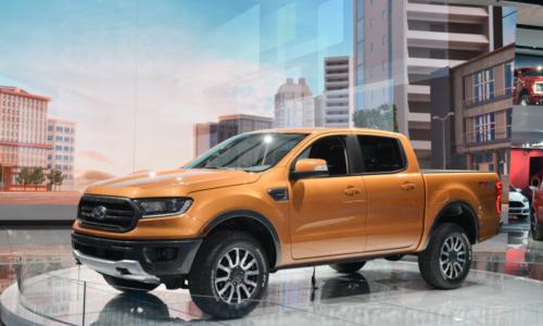 2022 Ford Ranger Hybrid Exterior