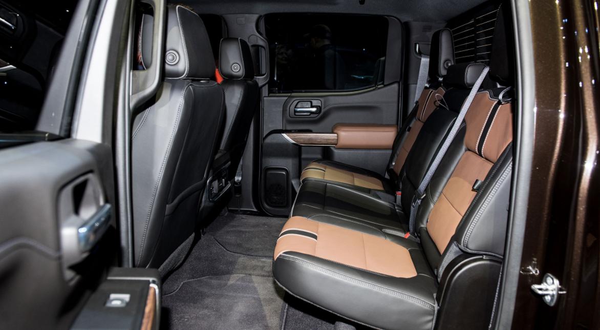 2023 Chevrolet Silverado LT Interior