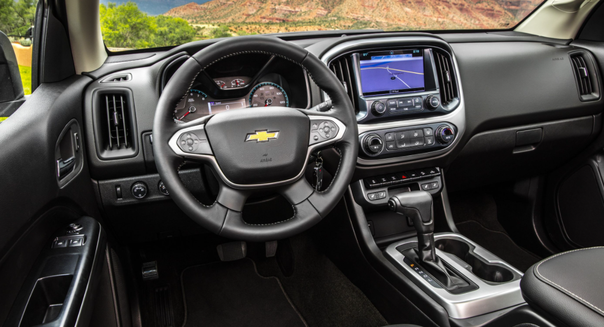 2023 Chevy Colorado ZR2 Interior
