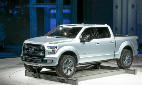 2023 Ford Atlas Exterior