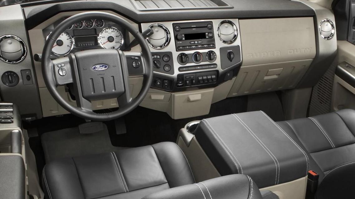 2023 Ford F-650 Interior