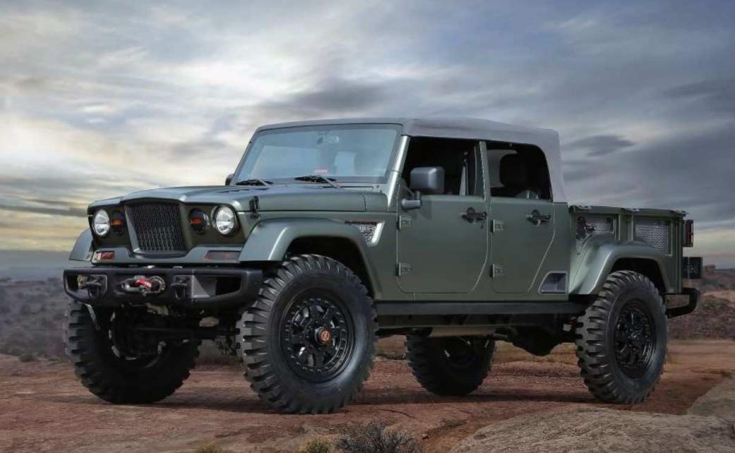 2023 Jeep Scrambler Exterior