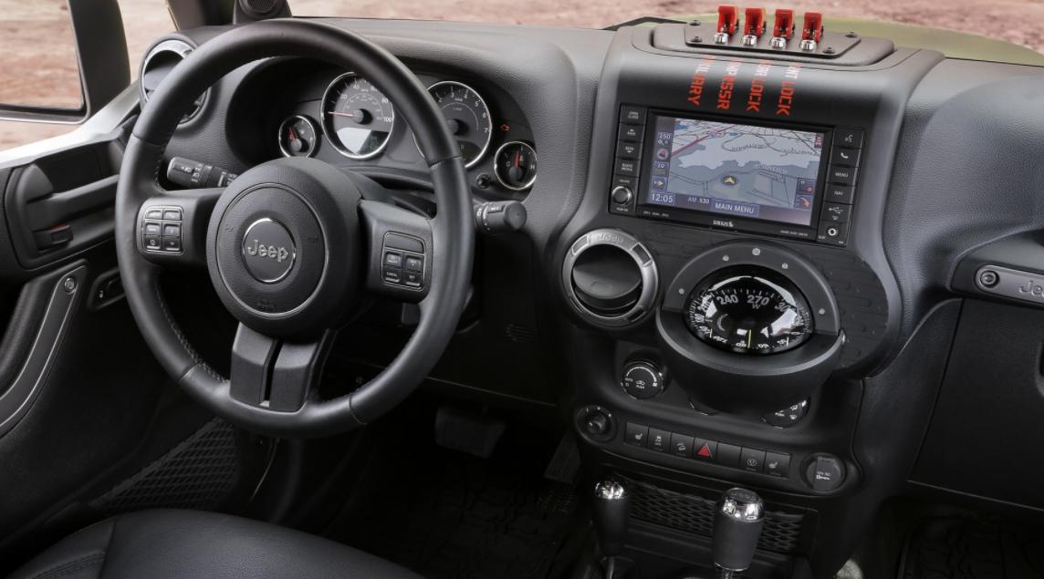2023 Jeep Scrambler Interior