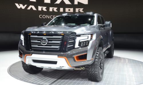 2023 Nissan Titan Warrior Exterior
