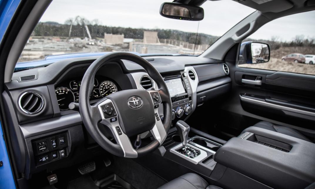 2023 Toyota Tundra Interior
